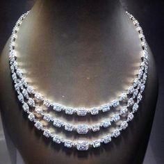 Roberto Coin_ Diamond necklace.