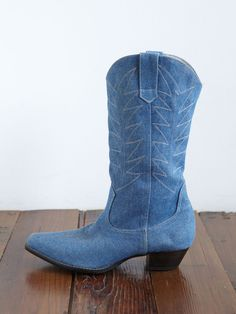 I'm not a southern gal or a country gal.  But I really like these baby blue boots