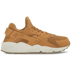 Nike Men's Air Huarache Run Casual Shoes From Finish Line ($110) ❤ liked on Polyvore featuring men's fashion, men's shoes, men's athletic shoes, nike mens athletic shoes, nike mens shoes and mens shoes