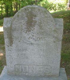 Mary Elizabeth Bouffard Jones (1842 - 1918) - Find A Grave Photos