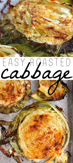 These roasted cabbage steaks are so easy to make and are always a hit with the whole family! These roasted cabbage steaks are so easy to make and are always a hit with the whole family! Easy Cooking, Cooking Recipes, Grilling Recipes, Pasta Recipes, Crockpot Recipes, Soup Recipes, Chicken Recipes, Roasted Cabbage Recipes, Kohl Steaks