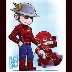 "Lordmesa Art — ""Not So Fast Kid""  Loved their conversation last..."