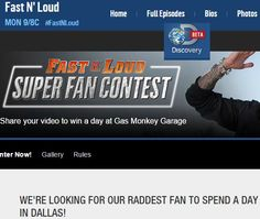 Discovery channel fast n loud sweepstakes dale