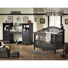 Love the #brown #nursery