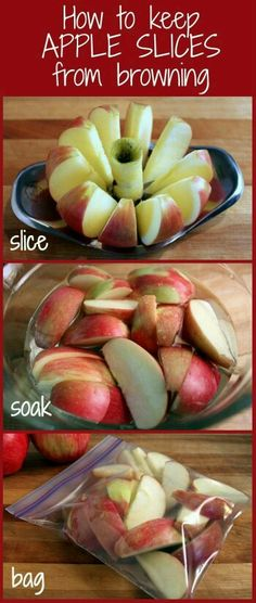 For those who want part of a fruit, an easy way to avoid waste! (Or someone else benefiting from your unfinished fruit!)