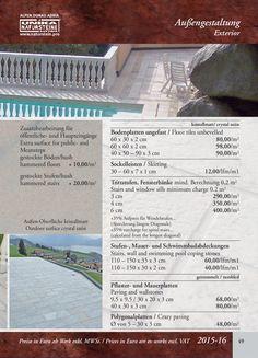 Unika Natursteinkatalog Garden Tools, Personalized Items, Natural Stones, Catalog, Yard Tools