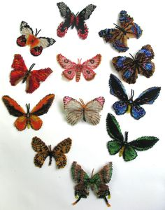 Butterfly Rainbow of Eastern Hemisphere | Bead-Patterns.com