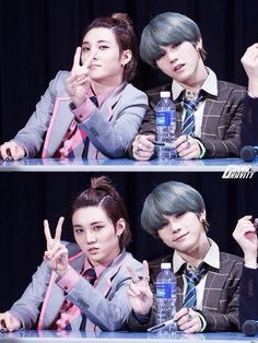 Hansol and Xero - they are so cute! <3