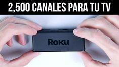 ¡AGREGA 2500 CANALES A TU TV! - Unboxing / Reseña Roku Express+