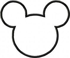 Molde de cabeza de Mickey. Fiestas infantiles.