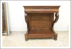 Console Noce massello Cappuccina! Consolle – Toletta Tavolino!1850 Ottime Dimensioni
