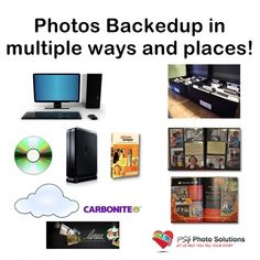 Backup systems are so important to keep today's digital photos safe.