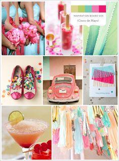 Wedding Inspiration: Cinco de Mayo Style