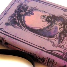 Midsummer Nights Dream lavender leather by ImmortalLongings, $42.99
