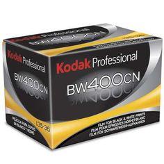 Kodak Professional BW400CN - C-41 process B&W film $10.25