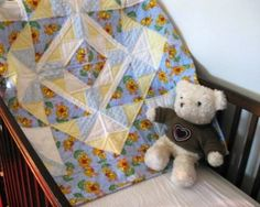 All Quaked Up - a handmade baby quilt for boys or girls