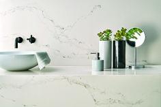 5111 Statuario Nuvo | Classico ™ Collection | Quartz Countertops comes in honed finish