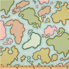 World map fabric drapery fabric upholstery fabric slip cover map fabric if i ever do a kids playroom publicscrutiny Gallery