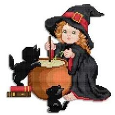 sandylandya@outlook.es  Halloween Cross Stitch Patterns