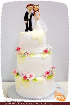 Wedding cake - Tal Tsafrir's cakes