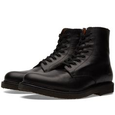 Common Projects Combat Boot (Black)