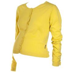 yellow cardi / polarn o. pyret