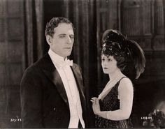 """James Kirkwood and Truly Shattuck in """"The Great Impersonation"""" (1921)"""