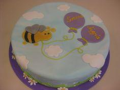 Τούρτες Γενεθλίων - Μελισσούλα! #sugarela #BirthdayCakes #melissoula #bee #BirthdayCakes
