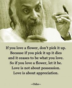If you love a flower...