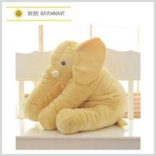 Elephant Plush Pillow Baby Sleeping Back Cushion Baby Elephant Stuffed Animal Toy Stuffed Elephant Doll Baby Toys Gifts Plush Dolls, Doll Toys, Pet Toys, Baby Toys, Kids Toys, Kids Sleep, Baby Sleep, Elephant Peluche, Elephant Plush Pillow