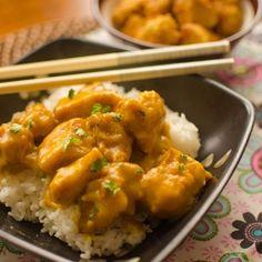 Kare Chicken; Korean style chicken seasoned with curry powder