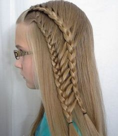 25 Cute Hairstyle Ideas for Little Girls  I need instructions for this lovely pair of braids