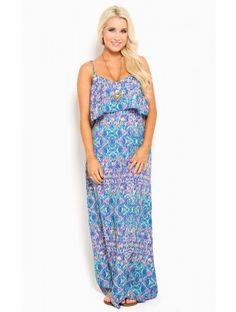 Ocean Kaleidoscope  Maxi #Dress