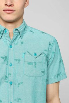 Staple Pigeon Button-Down Shirt - Urban Outfitters