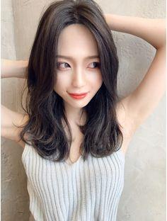 Korean Hairstyles Women, Hairstyles Haircuts, Japanese Beauty, Asian Beauty, Medium Hair Styles, Short Hair Styles, Petty Girl, Hair Images, Good Looking Women