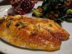 Garlic-margarita tilapia recipe...use with our Lake Trout from Superior