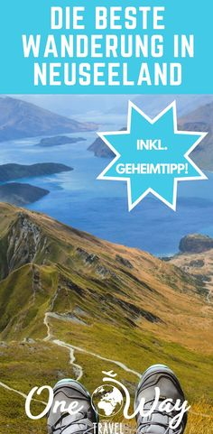 """A day hike to Roys Peak is definitely a """"MUST"""" if you are on the South Island of New Zealand. If you want to go one better, continue to the top of Mount Alpha and be rewarded with a breathtaking view over the mountains of New Zealand. Holiday Destinations, Travel Destinations, Going On Holiday, Travel Companies, Travel Tours, South Island, Day Hike, Best Cities, Australia Travel"""