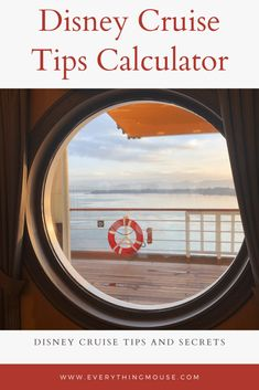 Disney Cruise Tip Calculator. Learn who to tip, how much to tip and who you definitely mustn't tip! Learn all about tipping and gratuities on your Disney Dream Cruise. Disney Cruise Rooms, Disney Cruise Alaska, Disney Dream Cruise Ship, Disney Wonder Cruise, Disney Fantasy Cruise, Disney Cruise Tips, Disney Secrets In Movies, Disney World Secrets, Disney World Tips And Tricks