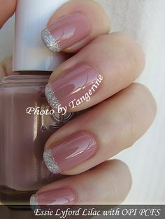Gorgeous nails. I really love that shade of pink.