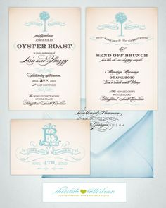 Southern Wedding Invitation Suite