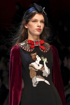 Vogue.com | Ready To Wear 2016 Fall Dolce & Gabbana Collection