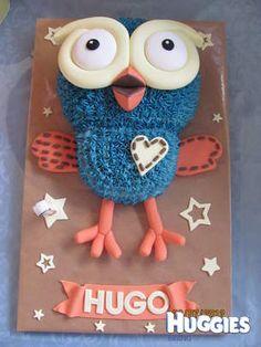 Hoot cake 1st Birthday Cakes, Birthday Ideas, White Chocolate Mud Cake, Blue Icing, Cake Decorating, Decorating Ideas, Cake Shapes, Star Cakes, Fondant Icing