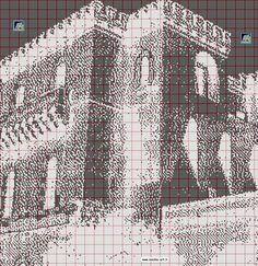 Gallery.ru / Фото #5 - Здания (схемы точечной вышивки) - Olgakam