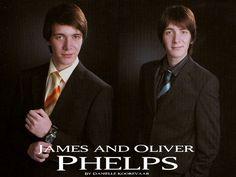 James and Oliver Phelps wallp1 by daniellekoorevaar.deviantart.com on…