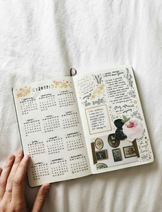 Bullet journal inspiration — studyrose: i'm wishing you all a brilliant first. Planner Bullet Journal, Bullet Journal Spread, Bullet Journal Layout, Bullet Journal Inspiration, Bullet Journals, Study Inspiration, Filofax, Planner 2018, Journal Aesthetic
