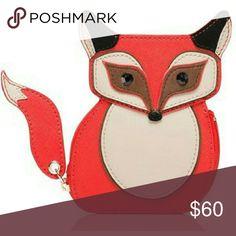 Fox Coin Purse Nwt kate spade Bags Wallets