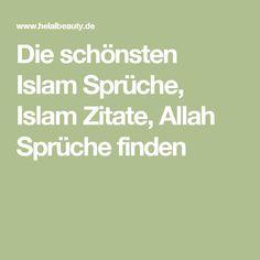Die 11 Besten Bilder Von Islamsprüche Sprüche Islam Und