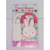 Miffy party favor boxes
