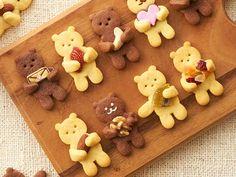 Iced Cookies, Cute Cookies, Chocolate Cookies, Best Christmas Cookies, Christmas Baking, Russian Cookies, Holiday Party Appetizers, Food Art For Kids, Food Packaging Design