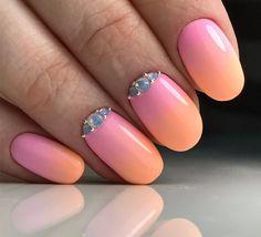nails, manicure, art style, маникюр, ногти, градиент, дизайн